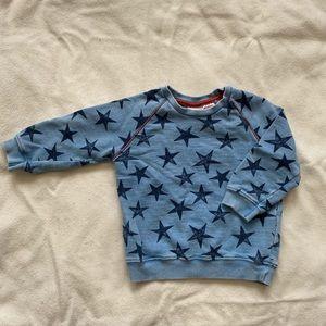 Baby Boy Crew Neck Sweatshirt